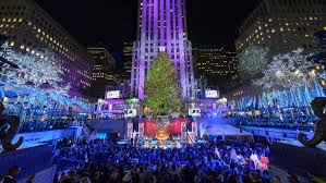 Rockefeller Center Christmas Tree Lighting 2014 Live by Best Christmas Lights Nyc Has To Offer Plus Festive Attractions