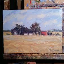 Shady Lane Farm Pumpkin Patch by Heidi Malott Original Paintings