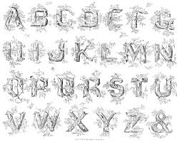 File Name Knowles Maxim Real Pen Work 1881 P48 Rustic Alphabet