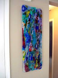 Amazing Glass Wall Art Panels Inside Modern