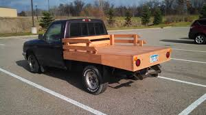 100 Custom Flatbed Trucks Wood Phoax RangerForums The Ultimate