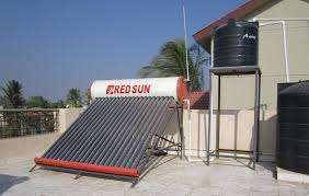 Simple Water Heater Pipe Connections Placement by Redsun Solar Water Heater Installation Method