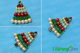 Finish The Beaded Christmas Tree Pendent Necklace