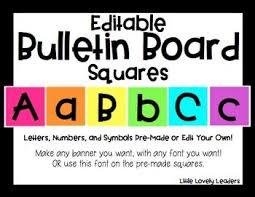 33 best Bulletin Board Letters images on Pinterest