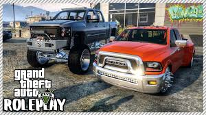 100 Lowered Trucks For Sale GTA 5 ROLEPLAY New Car Dealership Buying Dodge Ram Ep