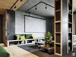 Living Room Rustic Industrial Furniture Design Home Furnishings Themed Wood And