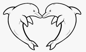 Dolphin Coloring Sheets