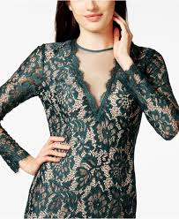 betsy u0026 adam petite long sleeve lace illusion sheath dress in