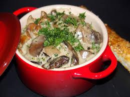 cuisiner cepes frais cassolette de chignons et feuilleté maison les recettes de virginie