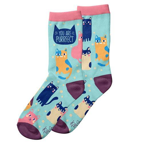 Karma Ladies Socks Cat