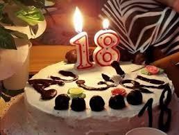 Happy birthday 18 candles Free