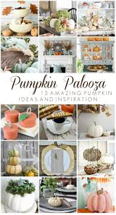 Preserve Carved Pumpkin Forever by How To White Wash A Pumpkin Add A Driftwood Stem Tidbits
