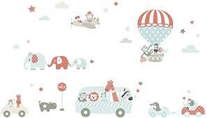 wandaufkleber kinderzimmer babyzimmer mit tieren lovely