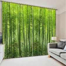 foto bambus vorhang moderne polyester vorhänge 3d wohnzimmer schlafzimmer vorhänge fenster dekoration vorhang