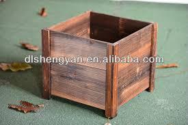 New Design Outdoor Garden Modern Wooden Flower Pot Planter Stand