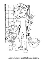 Kid In A Vegetable Garden