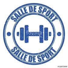 logo salle de sport fichier vectoriel libre de droits sur la