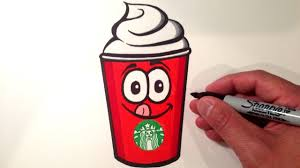 Drawn Starbucks Drink3451162