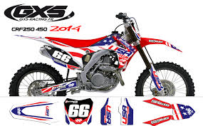kit deco crf 250 kit déco honda 250 450 crf 2014 usa gxs racing
