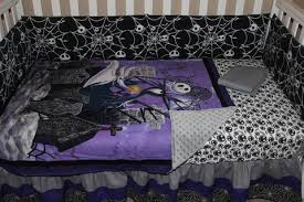 jack skellington nightmare before christmas 5 piece crib bedding