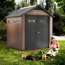 Keter Manor Shed Grey by Wood Plastic Composite Sheds Quality Plastic Sheds