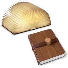 Lumio Book Lamp Walnut by Portable Book Lamp U2013 Library Of Congress Shop
