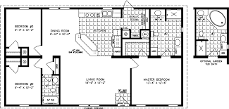 Fleetwood Triple Wide Mobile Home Floor Plans by 1200 To 1399 Sq Ft Manufactured Home Floor Plans Jacobsen Homes