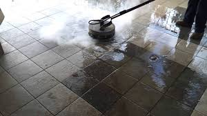 pressure washing poreous ceramic tile power washing