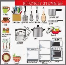 la cuisine en anglais parler anglais rapidement fiche de vocabulaire n 8 les ustensiles