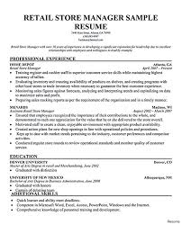 Professional Retail Management Resume Examples Supervisor Cv Template Skills Executive
