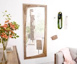 spiegel wyatt sheesham natur 160x70 cm unregelmäßig designer wandspiegel moderne einrichtungsideen günstig bei möbel modern