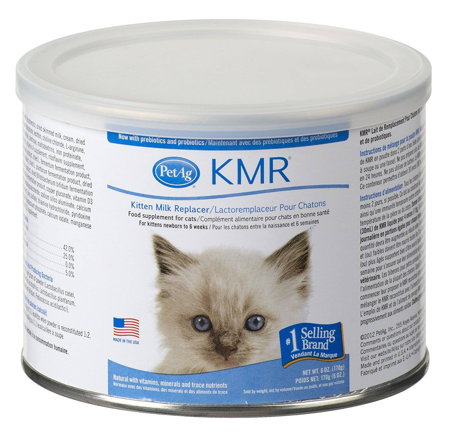 KMR Powder For Kittens & Cats - 6oz