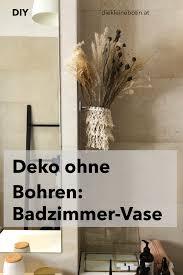 makramee fürs badzimmer deko ohne bohren befestigung