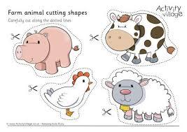 Animal Cutting Shapes
