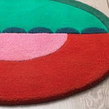langesö teppich kurzflor rot grün 70 cm ikea österreich