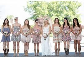 Barn Wedding Bridesmaids Dresses