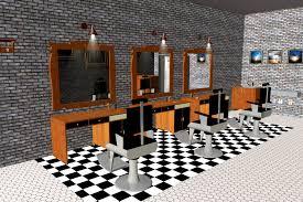 Interior Design – Barber Shop Theme Concept – CO B by design