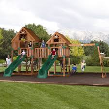 Amazon.com: Backyard Discovery Vista All Cedar Wood Playset Swing ... Shop Backyard Discovery Prestige Residential Wood Playset With Tanglewood Wooden Swing Set Playsets Cedar View Home Decoration Outdoor All Ebay Sets Triumph Play Bailey With Tire Somerset Amazoncom Mount 3d Promo Youtube Shenandoah