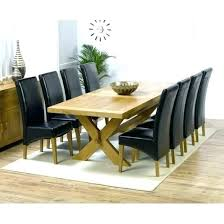 Set Of 8 Dining Chairs Square Table Sets Room