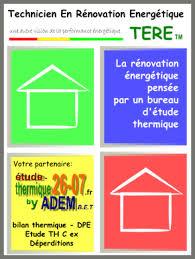 technicien bureau d ude thermique conseil en économie d énergie etude thermique rt 2012