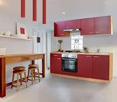 respekta küche küchenzeile einbauküche 210 cm buche