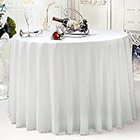 fr nappe ronde blanche 240