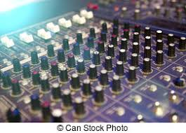 Professional Mixing Console For Audio Recording
