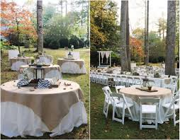 Rustic Garden Wedding Vintage Backyard Of Emily Hearn Chic
