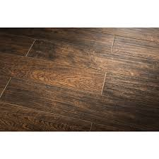 6 X 24 Wall Tile Layout by Shop Style Selections Serso Black Walnut Glazed Porcelain Floor