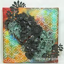 Viva Decor Inka Gold Pastels by In My Little Korner Mixed Media Dream Canvas
