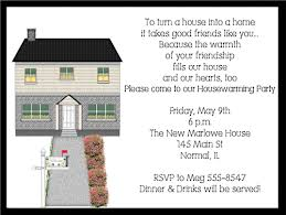 New House Housewarming Party Invitations