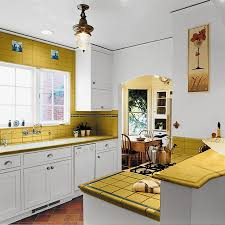 Small Kitchen Decorating Ideas Yellow Surface