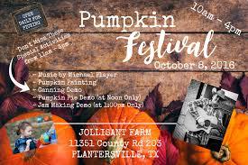Pumpkin Patch Houston Tx Area by Pumpkin Festival Jollisant Farm