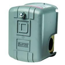Square D 30 50 psi Pumptrol Water Pressure Switch FSG2J21BP The